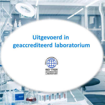 Lood testen in geaccrediteerd laboratorium